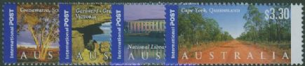 AUS SG2219-22 International Stamps: Views of Australia (4th series) set of 4